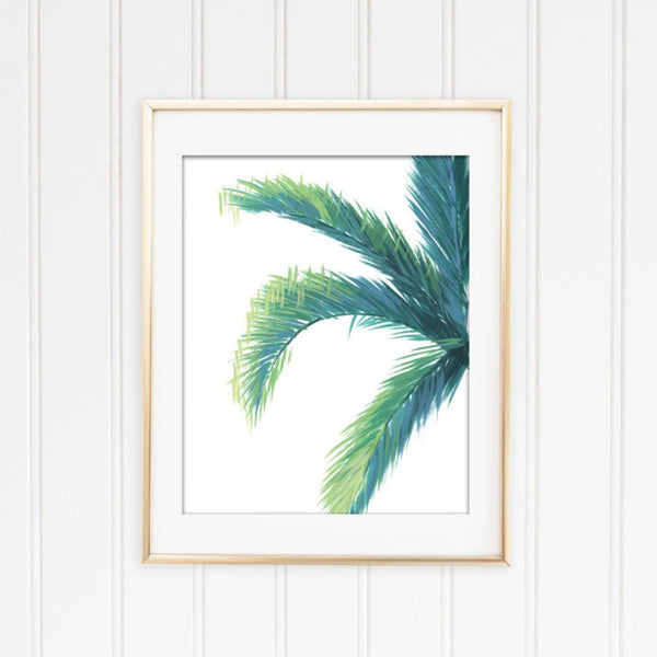 Palm Tree Framed | Fine Art Print