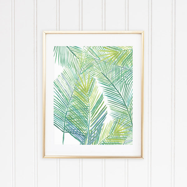 Tropical Fern Framed | Fine Art Print