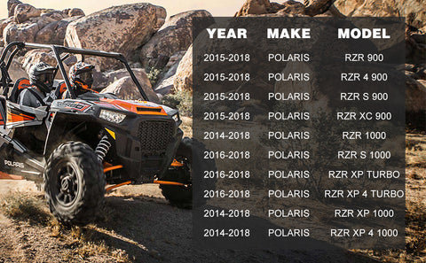 polaris rzr xp 1000 half windshield