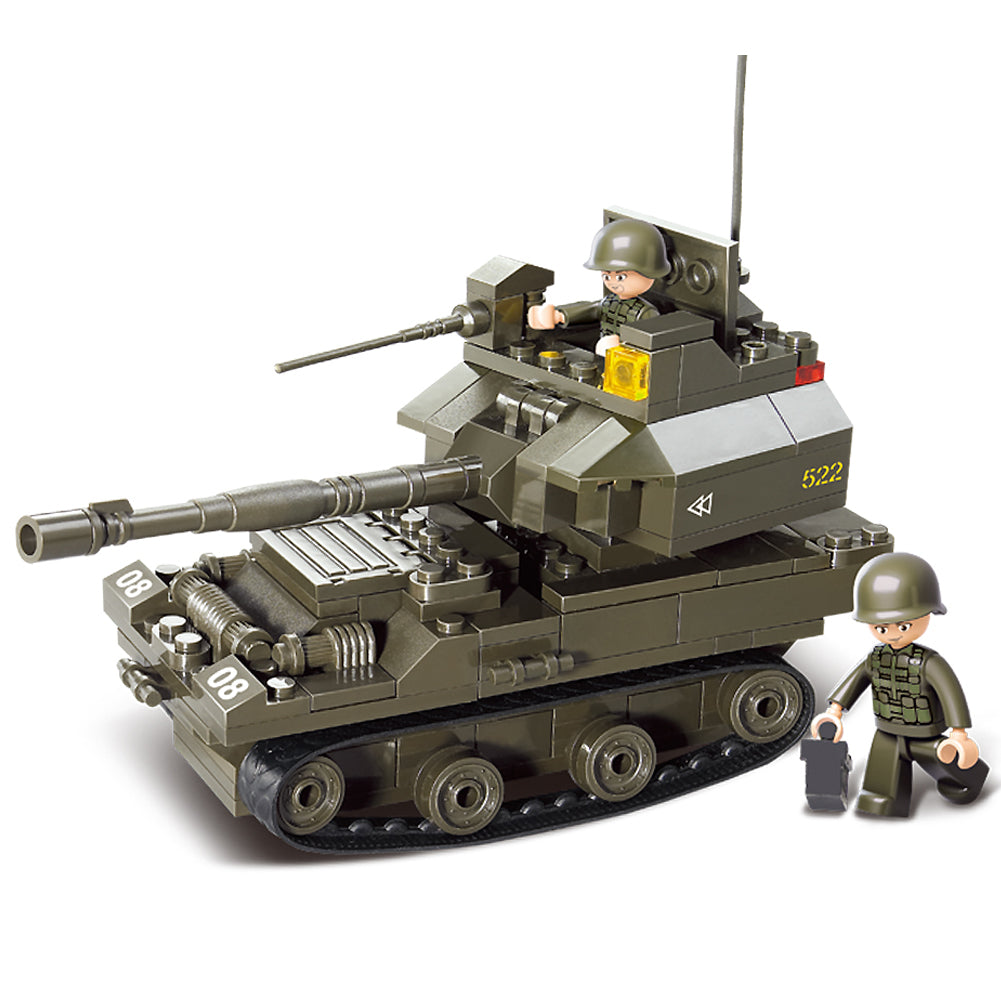 Army Military Building Bricks Toy T 90 Main Battle Tank With