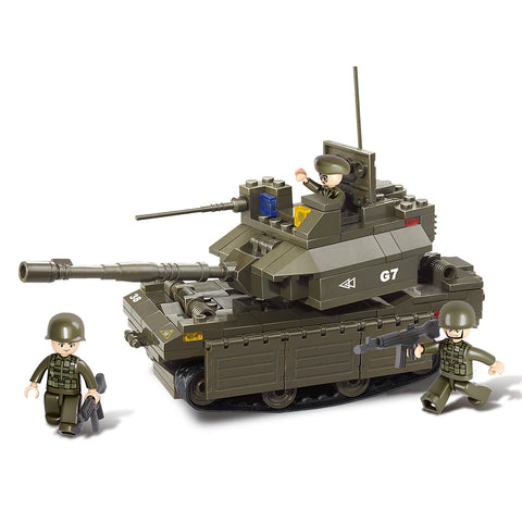 US Army M1 Abrams Main Battle Tank Building Blocks Set Toy Fits LEGO