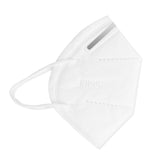 Pack of 100 White KN95 Face Protection Mask