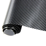 "TCBunny 4D Carbon Fiber Vinyl Wrap Sticker Air Realease Bubble Free anti-wrinkle 120"" x 60"" 10FT x 5FT"
