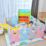 16 Panel Baby Playpen Kids Activity Centre Safety Play Yard
