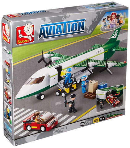 Sluban Aviation Blocks Plane Bricks Toy Air Freighter