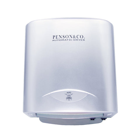 Penson & Co Automatic Commercial Hands Free Electric Silver Hand Dryer
