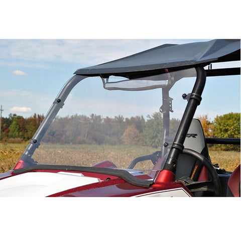 "1/5"" Thick Clear Windshield w/Hardware NON FOLDING for POLARIS RZR UTV"