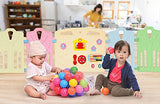 12 Panel Baby Playpen Kids Activity Centre Safety Play Yard