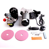"Electric Chainsaw Sharpener Grinder w/ Grinding Wheels 1/8"" & 3/16"""