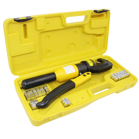 Hydraulic Pliers 10 Ton Wire Battery Cable Lug Terminal