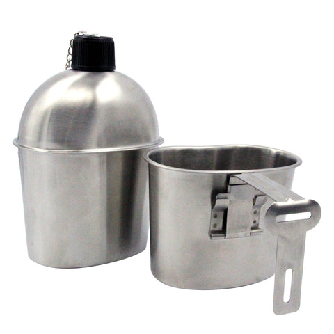 Military Stainless Steel Canteen