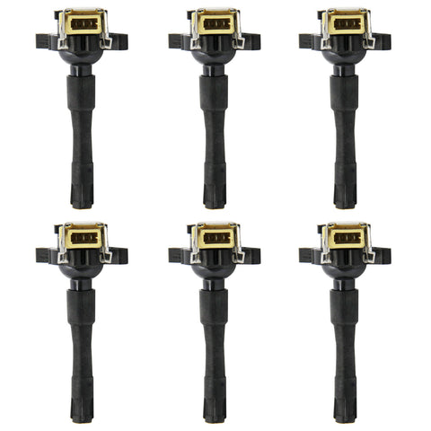 Ignition Coils on Plug Pack Set of 6 For Land Rover BMW 540i M5 X5