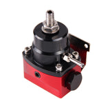 160psi Gauge AN 6 Fitting End Adjustable Fuel Pressure Regulator (FPR)