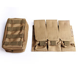 Combat Vest woodland SWAT Outdoor Soldier Tactical Molle