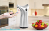 Automatic Touchless Soap Dispenser Stylish Design Sensor Pump