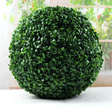 Artificial Plant Box Ball In/Outdoor Buxus sempervirens Bush 11""
