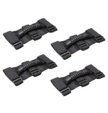 Universal Easy-to-fit Roll Bar Grab Handles Set for Jeep Polaris Honda Yamaha Kawasaki UTV & ATV Roll Bars, Pack of 4