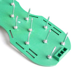 Grass Sod Slip-on Aerator Shoes Garden Sharp Spikes for a Greener Lawn