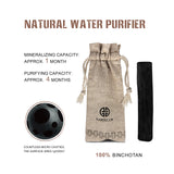 Japanese Artisan World Top Activated Charcoal Tap Water Purifier Replacement Filter for Pitchers