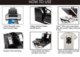 Multifunction Sublimation Heat Press Machine for T-Shirts, Mug,and Cap (5 IN 1)