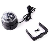 Mini RGB LED Light Crystal Magic Ball Effect Stage Light for Disco Club DJ Party KTV Pub Bar Wedding Show