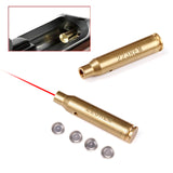 Bore Sighter Red Dot Cartridge 223 REM Laser Sight 5.56 Nato Boresight