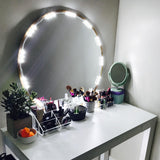 10 FT Lighted Mirror LED Light for Cosmetic Makeup Vanity Mirror Kit with Dimmer