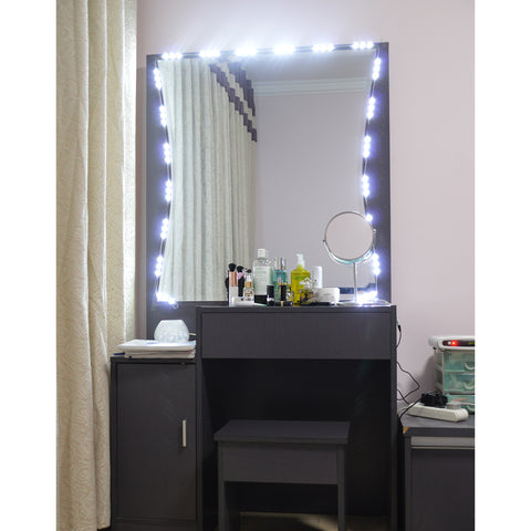 lighting on ideas light makeup in mirror lights amazing best incredible contemporary with pinterest vanity for bulbs