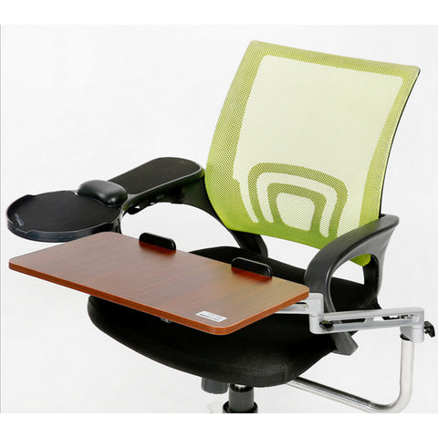 Ergonomic Chair Mount Laptop Keyboard Mouse Tray System Arm Stand