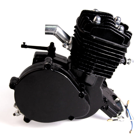 NEW Black 80cc 2-Stroke Motor Engine Kit Gas for Motorized Bicycle