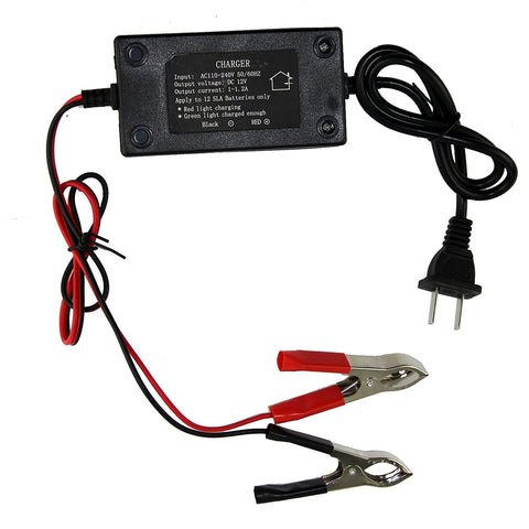 12V/1.2A Battery Charger Portable Multimode for Motorbike Car Boat ATV