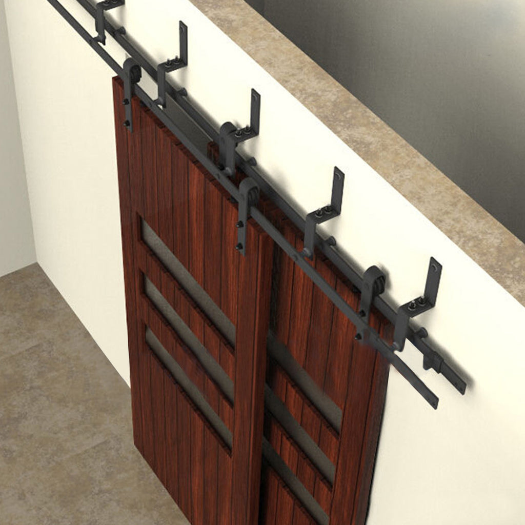 bypass door hardware. Barn Door Hardware Bypass