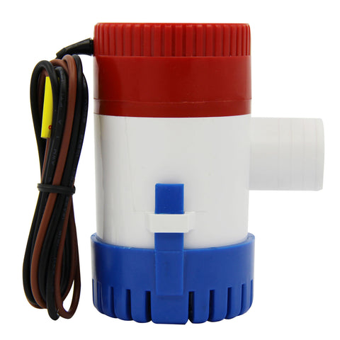 Electric Bilge Pump 12V Marine 1100Gph For Boat Caravan RV