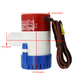Submersible BILGE PUMP 12V 1100GPH FOR BOAT CARAVAN RV MARINE ELECTRIC