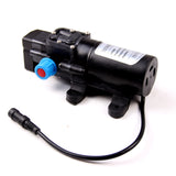 Electric Washer Pump 12V Portable 80W 130PSI High Pressure Car