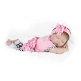 "22"" Reborn Handmade Sleeping Baby Doll Girl Newborn Lifelike Soft Vinyl"