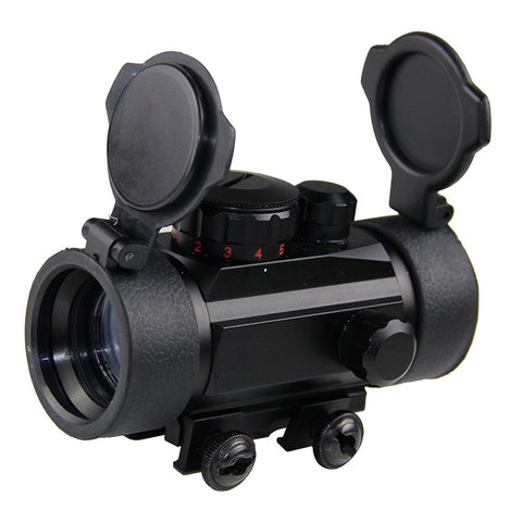 Red Green Dot Scope Tactical Reflex Laser 30mm for Rifle Picatinny