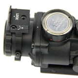 Prismatic Scope Tactical 4X32 w/ Fiber Optic Sight for Rifle