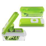 Slicer Dicer Cutter Chopper Peeler 12 pc kitchen Chopping Device