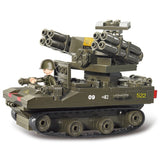 Sluban Military Blocks Toy -Tor Anti-Aircraft Missiles Fits LEGO