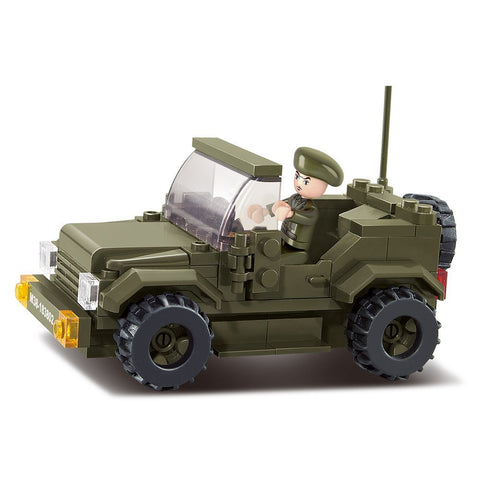 US Army Car Armored Military Vehicle Building Blocks Toy Fits LEGO