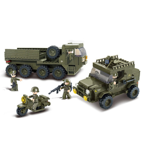 US Army Armored Vehicle Military Building Blocks Set