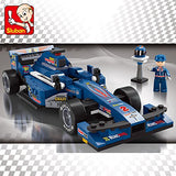 Sluban Building Blocks Formula One Racer F1 Toy Fits LEGO 1:24