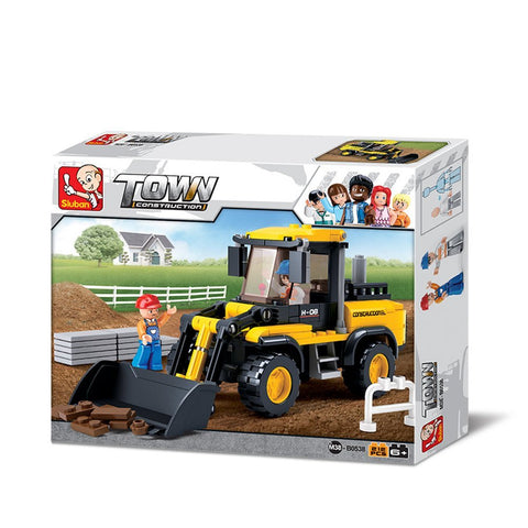 Building Blocks Construction Wheel Loader Toy Fits LEGO