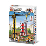 Sluban Building Blocks Construction Tower Crane Educational Bricks Toy Fits LEGO
