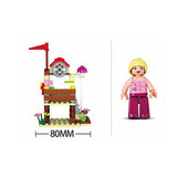 Vacation Sailing Boat Pink Dream Blocks Bricks Toy Fits LEGO