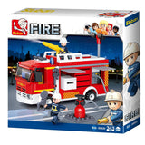 Sluban Fire Engines Firefighting Series Blocks Vehicle Bricks Toy Fits LEGO