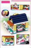 Drumstick Mini Restaurant Pink Dream Series Blocks Building Bricks Toy Fits LEGO