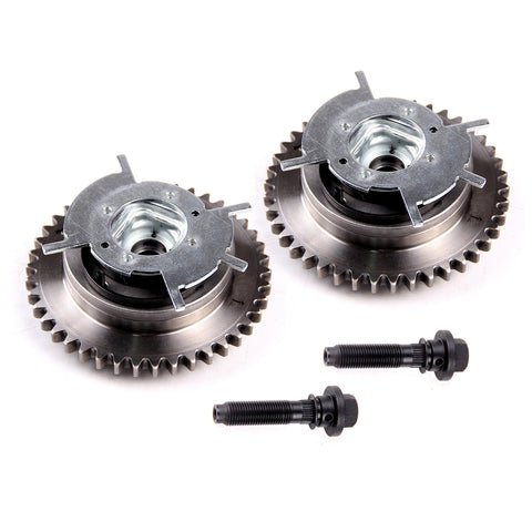 Camshaft Phaser Variable Timing Cam Gear 2pcs For 04-10 Ford Mercury