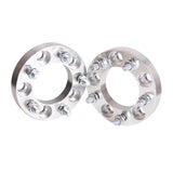 AURELIO TECH 2pcs 1 Inch 5x4.75 Wheel Spacers 25mm Adapters 12x1.5 Studs for Corvette XLR